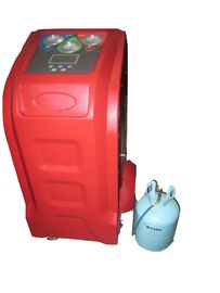 R134a AC Flush Machine 5 inch Colorful Screen ,  AC Recovery Recharge Machine